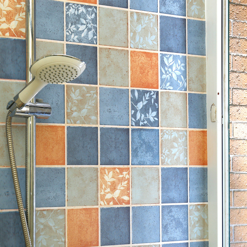 Beibehang Kamar Mandi Stiker Tahan Air Stiker Dinding Kamar Mandi Toilet Dekorasi Tebal Perekat Kertas Dinding