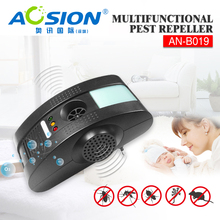 Фотография Aosion electronic pest repeller 4 in 1 ultrasonic mouse mosquito spider cockroach control repellent