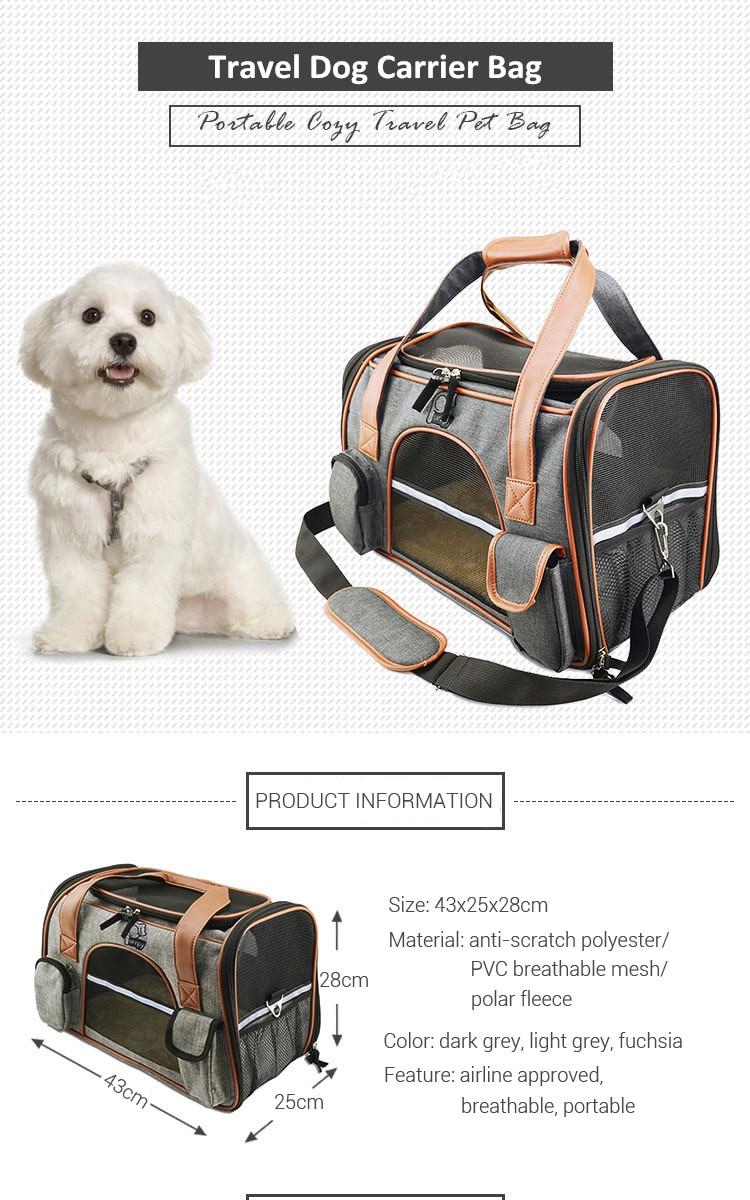 Breathable K9 Dog Backpack Carrier 7