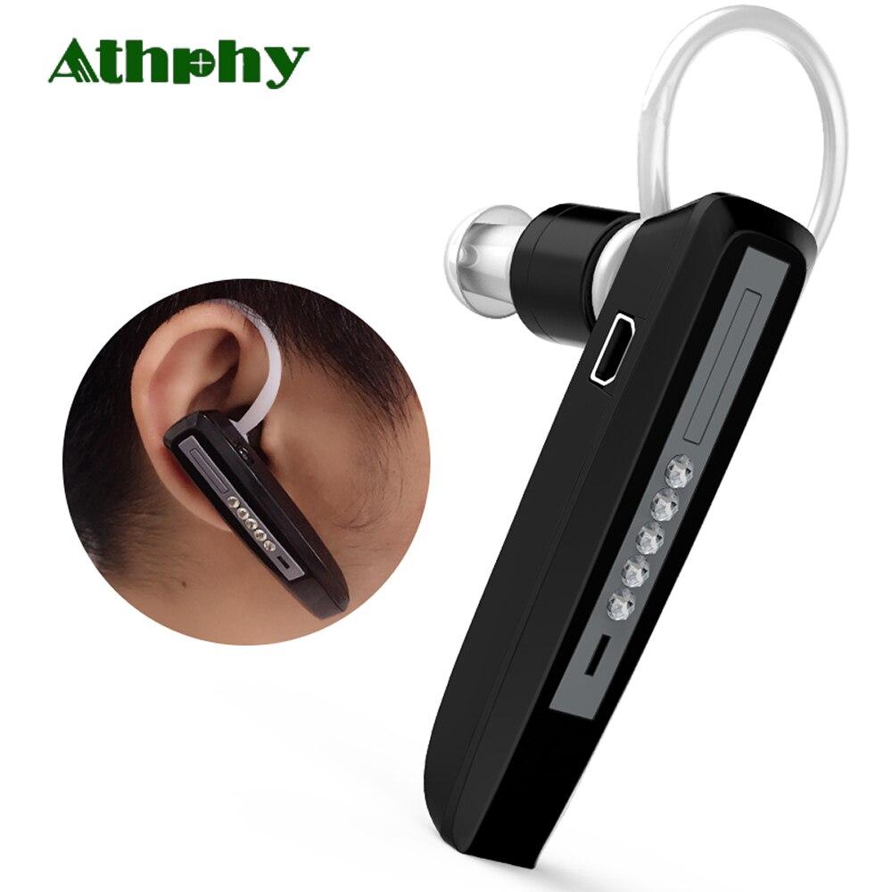 Athphy Rechargeable Mini Aide Auditive Numérique Bluetooth Apparence Son Amplificateurs Sans Fil Réglable Réduire Le Bruit Audiphones