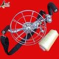 Envío Gratis Outdoor Fun Sports 26 cm Potencia Rueda Correa de Acero Inoxidable Con 500 m tercera Línea de Kevlar/Kite rueda/herramientas Del Vuelo