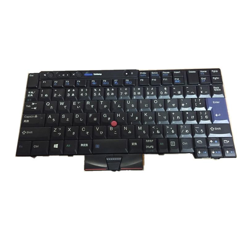 Original pour Lenovo IBM/Thinkpad T410 T420 T510 T520 clavier d'ordinateur portable japonais livraison gratuite
