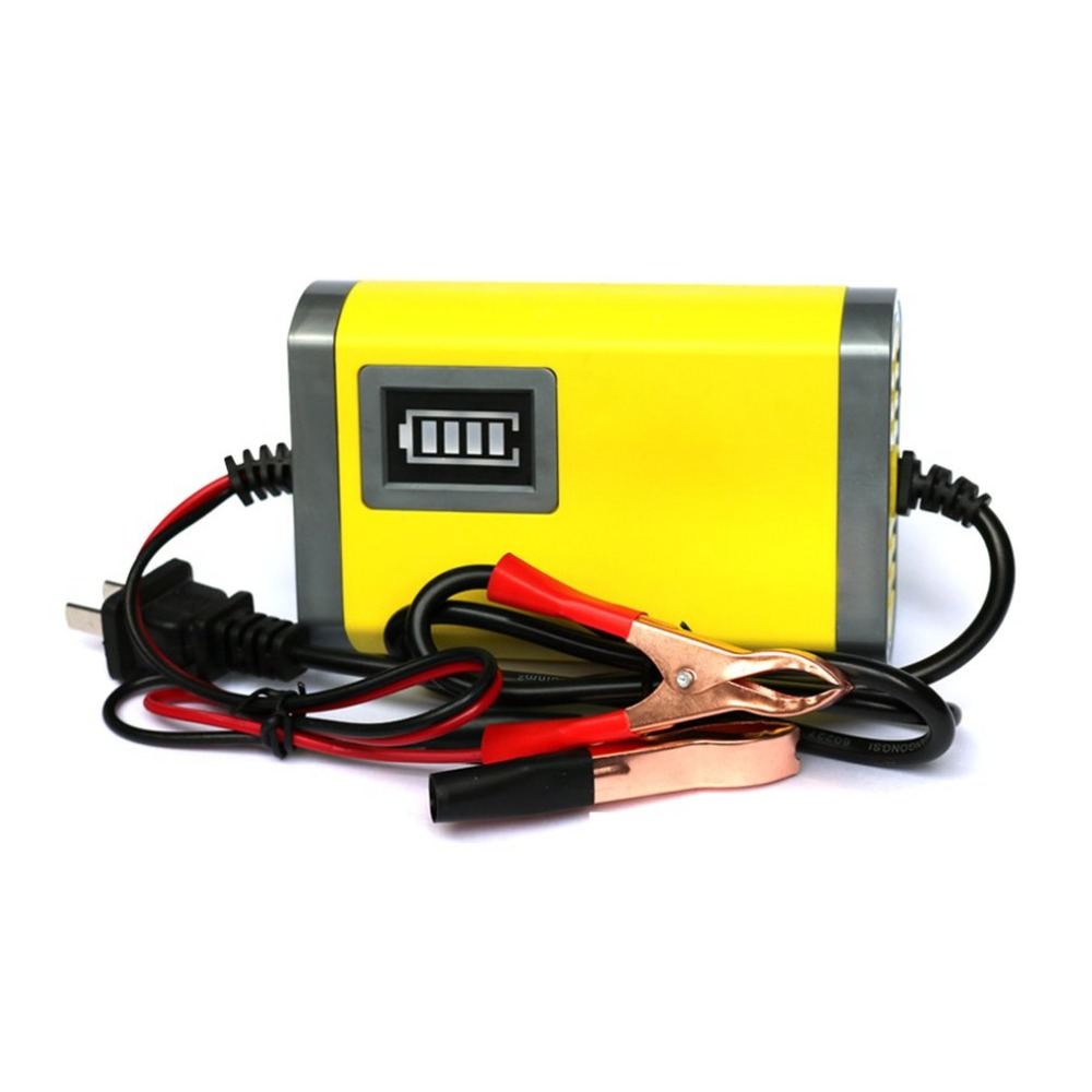 Mini Portable 12V 2A Car font b Battery b font Charger Adapter Power Supply Motorcycle Auto
