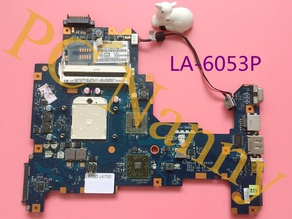 ФОТО original L675D laptop motherboard K000103980 NALAE LA-6053P 100% work promise quality DDR3