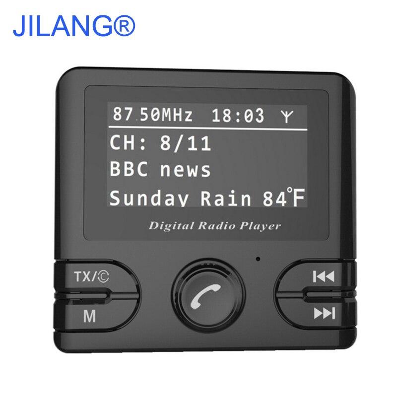 Auto Voiture Numérique DAB/DAB + Radio Récepteur Audio Adaptateur Sans Fil Transmetteur FM et Bluetooth Mains-Livraison DAB + Tuner Comprennent Antenne