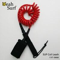 SUP Board Surfplank 6ft-12ft Leash 11ft-9mm Red Surf Coil Leash Surf Accessoires Gratis Verzending