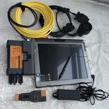 2018 para bmw icom a2 b c com laptop LE1700 ista software 480 gb SSD modo expert ferramenta de diagnóstico para bmw obd cabo pronto para usar