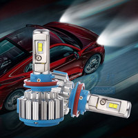 2pcs T1 880 Super Bright Car Headlights H7 H4 Led H8 H9 H11 HB3 9005 HB4