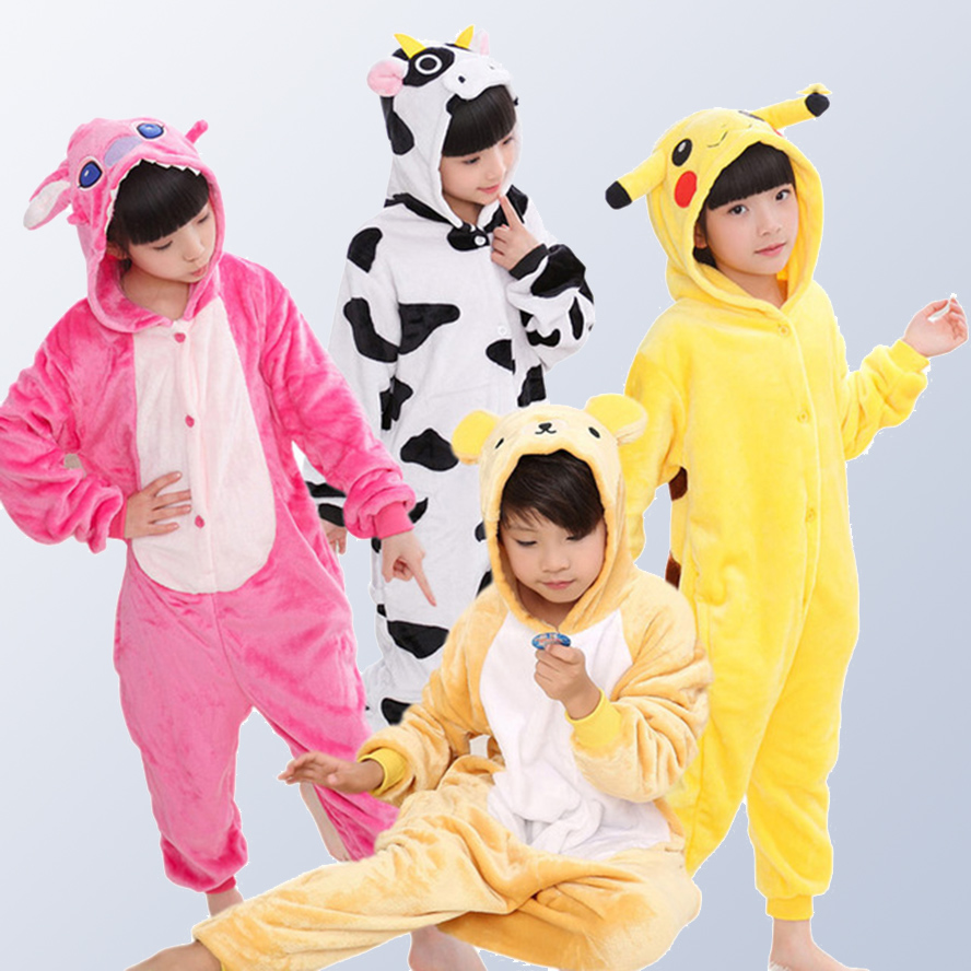 e331ba0369 Detail Feedback Questions about Christmas pajamas Kids Boys Girls pijama Children s  Onesie Cosplay Animal unicornio Pikachu Panda pyjama enfant for 4 12 ...