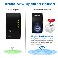 Wavlink Upgrade UltraMini N300 Wireless WiFi repeater Wi-Fi Range Extender wifi Signal amplifier Booster WPS Easy APP setup page 2