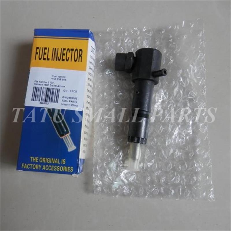 DIESEL FUEL INJECTOR FOR YANMAR L100  10HP ENGINE FREE POSTAGE GENERATOR WATER PUMP CHEAP INJECTION NOZZLE REPL. PARTS water pump for 495 4100 weifang diesel engine parts
