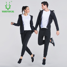 Couple Style Winter Sports Suit Running Fitness Wear Loose Sweater hoodies Sportswear Men and Women Training tracksuits