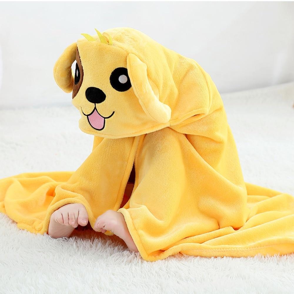 Baby Animal Cartoon Hooded Towel Beach Bath Robes Soft Children Poncho Towels Bathing Suit Towel For Boys Girls Kids Bathrobe 15