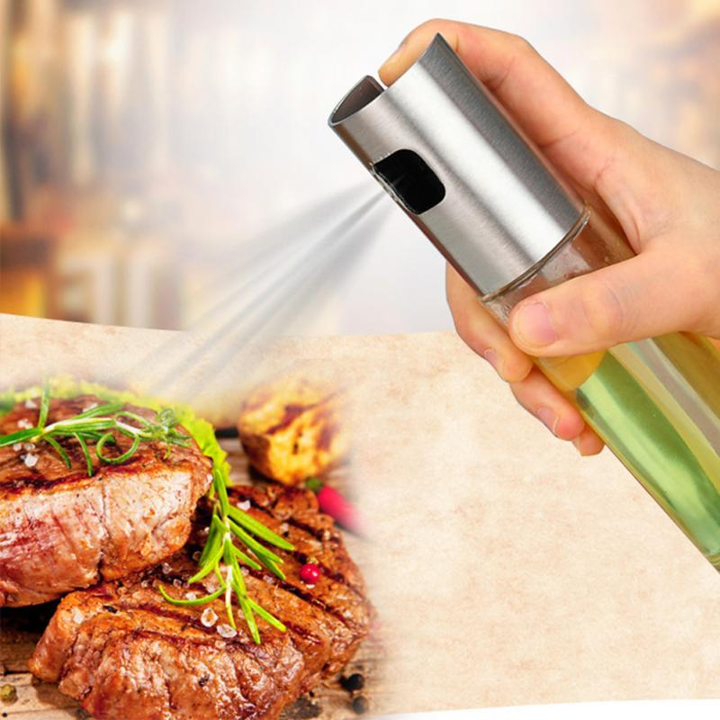Portable Glass Spray Bottle Cruet Suitable for Outdoor and Indoor Indoor Cooking Salad Barbecue Baking Kitchen Tools Camping in Cooking Tool Sets from Home Garden