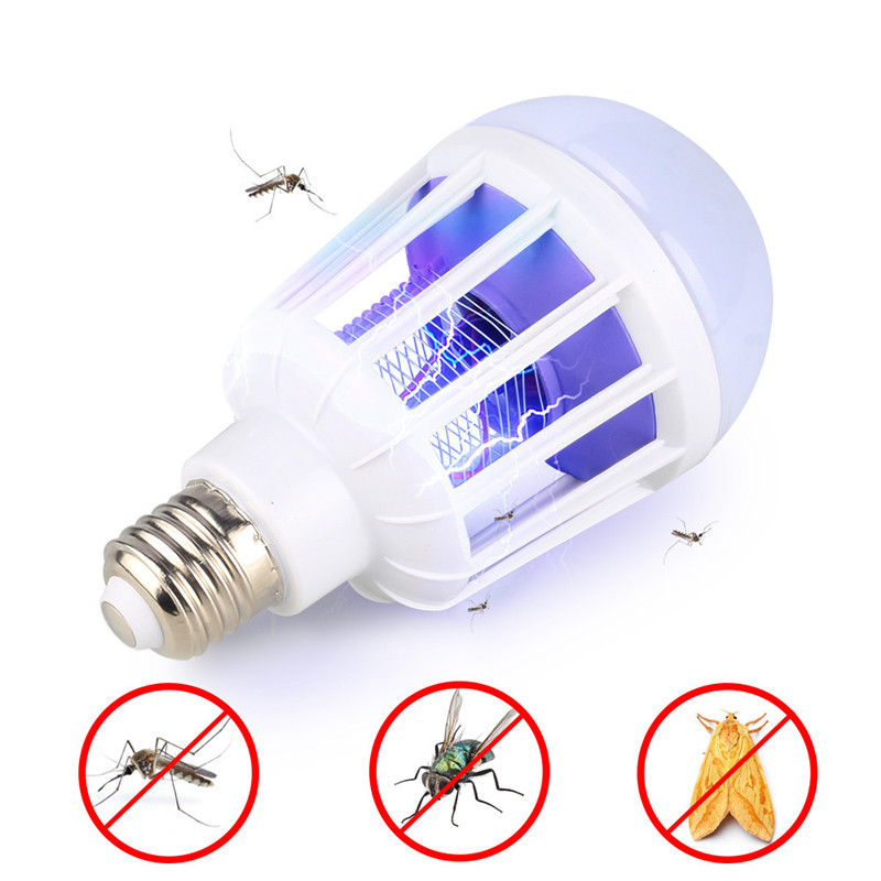 2 in 1 LED Mosquito Killer Lamp E27/B22 Bulb Electronic Anti Repellent Bug Insect Killer Light Baby Room sleeping Night Light2 in 1 LED Mosquito Killer Lamp E27/B22 Bulb Electronic Anti Repellent Bug Insect Killer Light Baby Room sleeping Night Light