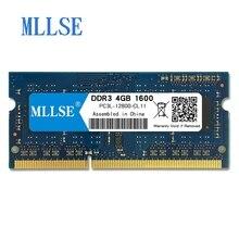 Mllse оперативная память so-dimm для ноутбука Оперативная память DDR3L 4 GB 1600 mhz 1,35 V памяти для Тетрадь PC3L-12800S 204pin non-ecc (без коррекции ошибок) Тетрадь оперативная память