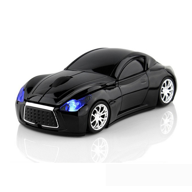 Wireless Mouse Infiniti Sports Car Mouse 2.4Ghz USB Computer Mice Optical with LED Flashing Light