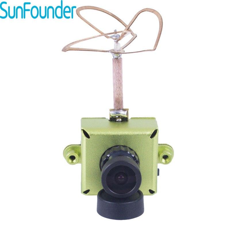 SunFounder JF01 AIO FPV Camera 800TVL Mini 1/3 inch CMOS 5.8G 40CH 25mW Raceband Video Transmitter for FPV Race Dron Quadcopter ufofpv tx35 5 8g 40ch raceband 0mw 25mw 300mw adjustable fm av fpv transmitter sma rp sma for fpv quadcopter rc drones diy page 1
