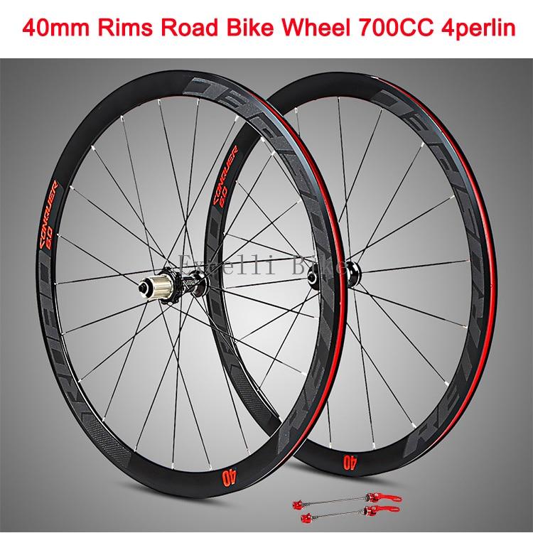 700CC Wheels Road Bicycle V brake 40MM Aluminium alloy Rim 29inch Cross Country Road Bike Four