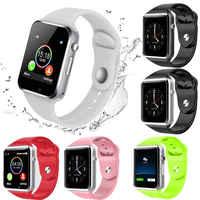 Inteligentny zegarek na rękę Bluetooth A1 telefon GSM dla androida Samsung iPhone mężczyzna kobiet zegarek