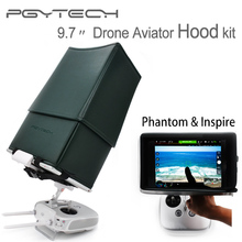 PGYTECH DJI phantom 2 3 4 inspire 1 9.7″ RC sun Hood Drone Aviator Hood kit remote control upgraded Accessories Quadcopter parts