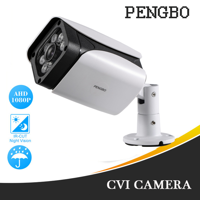 2.0MP/4.0MP Full HD AHD Outdoor Waterproof Metal Bullet Security Surveillance CCTV Video Camera With 6PCS IR LED