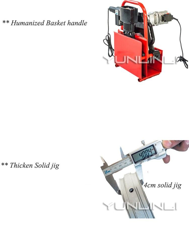 עופרות 63-250mm Hydraumatic באט ריתוך מכונת 220V באט 2000W חם ממיסים מכונת PE באט Fusion רתך מכונת ריתוך (5)