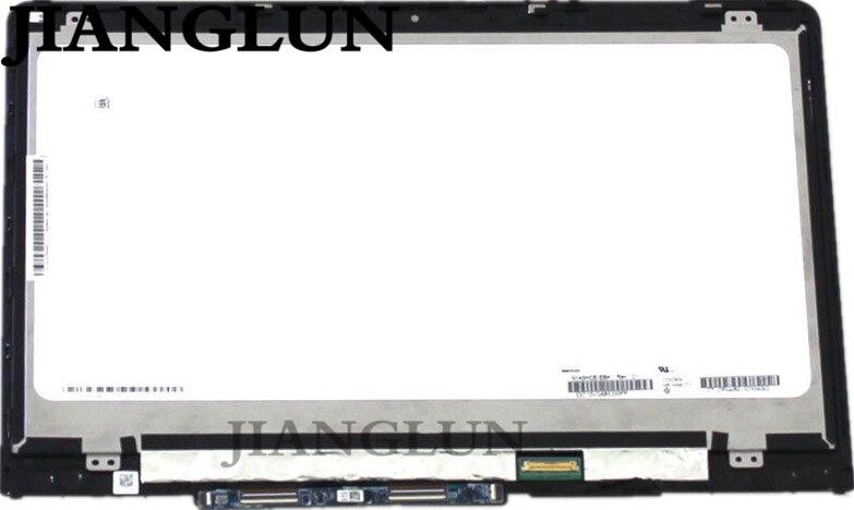 JIANGLUN Nouveau FHD 1080 P LED LCD Écran Tactile Assemblée Lunette Pour HP Pavilion X360 14-BA 14-BA013CA 14