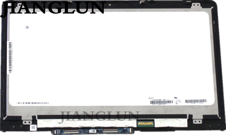 JIANGLUN Nuovo FHD 1080 P LED LCD Touch Screen Assembly Lunetta Per HP Pavilion X360 14-BA 14-BA013CA 14