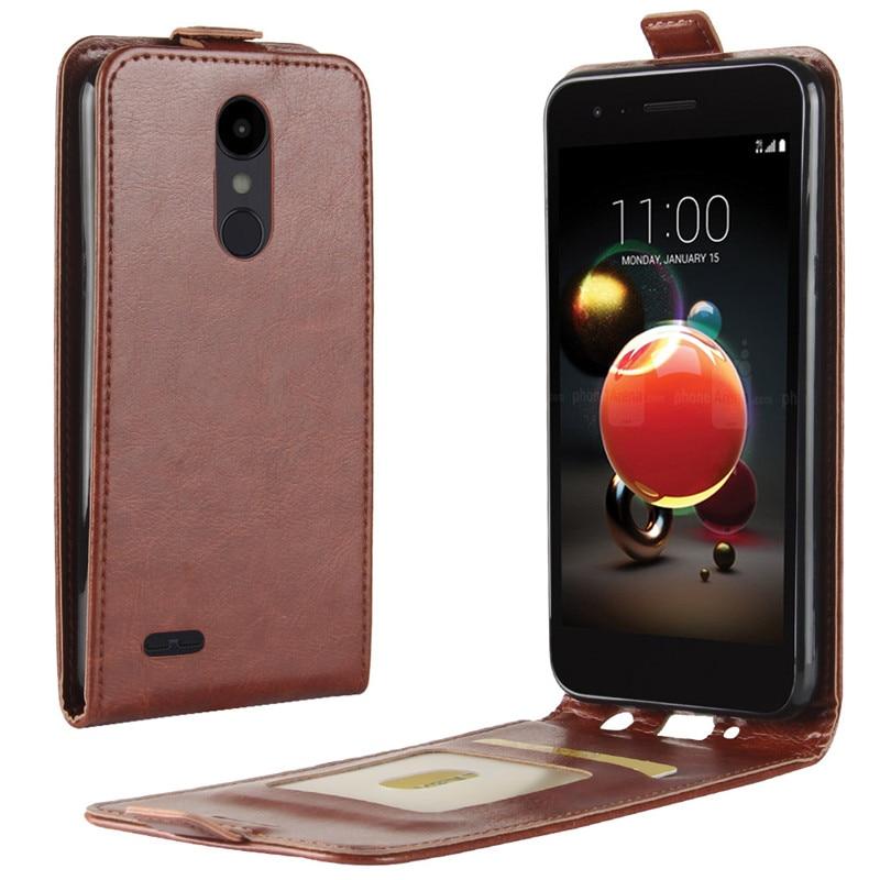 Для LG K8 2018 чехол Обложка на заднюю панель из искусственной кожи чехол для телефона LG Aristo 2 X210MA/Tribute Dynasty/K8 2018/LV3 2018 чехол флип