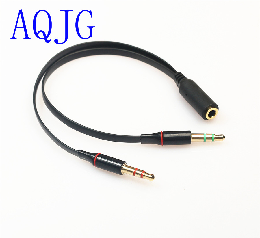 3 5 Mm Stereo Mini Jack 1 Female To 2 Male Y Splitter