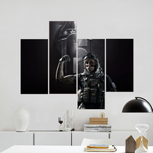 Rainbow Six Siege Canvas Print Home Accessories Decorative Painting Printing Process Poster Video Games Wallpaper Painting 10-13