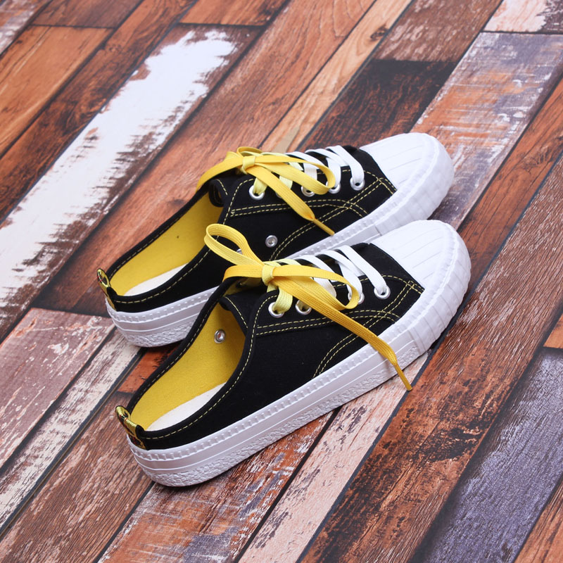 Fashion Women's Summer Shoes 2018 Breathable Lace up Canvas Shoes Casual Platform Slippers Espadrilles Women Flat Heel women s shoes 2017 summer new fashion footwear women s air network flat shoes breathable comfortable casual shoes jdt103