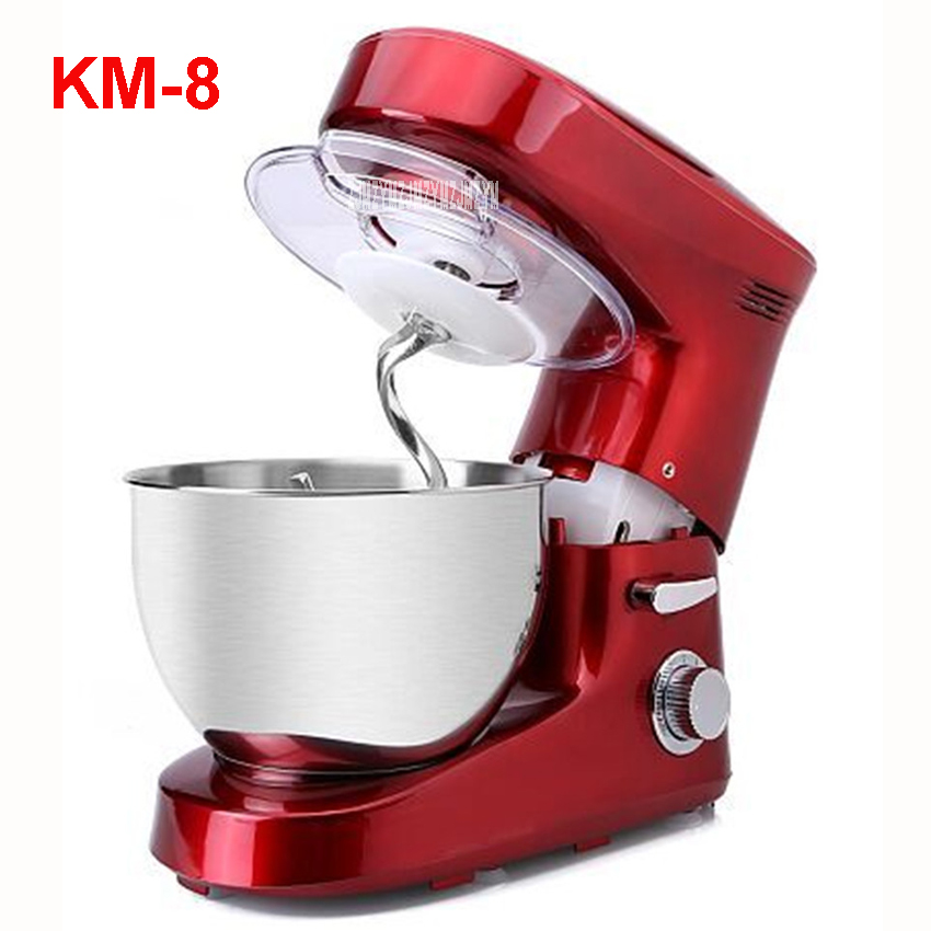 KM-8 Electric 6L chef home kitchen cooking stand cake food egg machine pasta mixer bread 220V/ 50 Hz 1200 W Food Mixers km 8 electric 6l chef home kitchen cooking stand cake food egg machine pasta mixer bread 220v 50 hz 1200 w food mixers