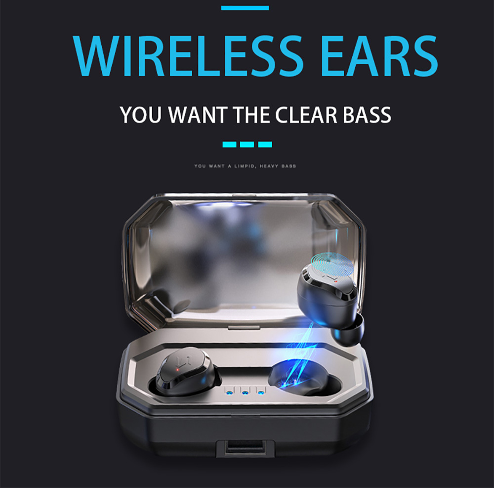 S8 Wireless Bluetooth Headset Mini Sport In ear Drive Running earphone Waterproof Universal Touch Dual Stereo Mobile Charge