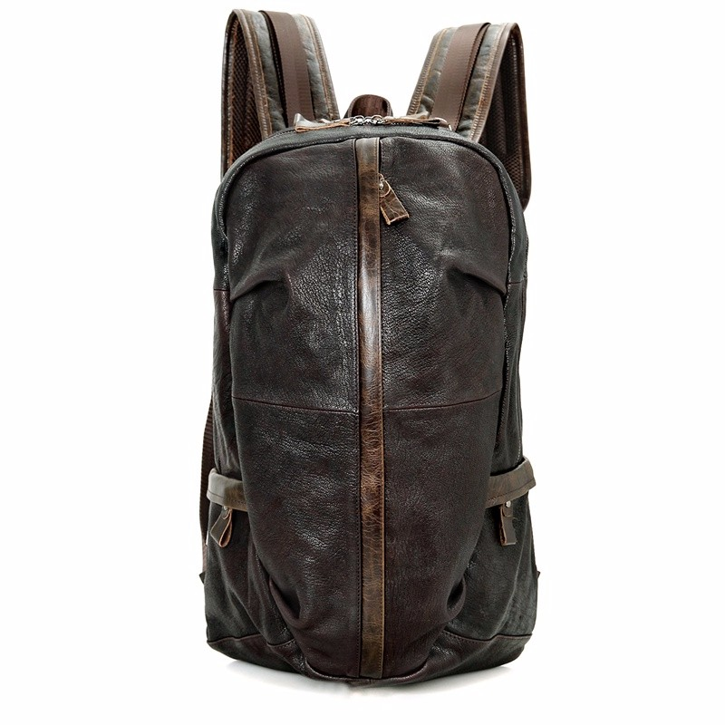 school leather laptop rucksack (1)