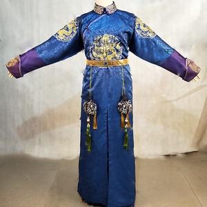 Image 2 - 3 Designs Kaiser Kangxi Qin JunJie Qing Dynastie Prinz Kostüm Hanfu für TV Spielen Legende von LongZhu Wu Jian Dao männlichen hanfu