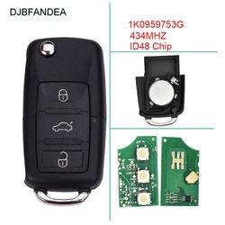 DJBFANDEA автомобиль дистанционного ключа для 1K0959753G для CADDY/EOS/GOLF/JETTA/Сирокко/TIGUAN/TOURAN 2003 2004 2005 2006 2007 2008 2009