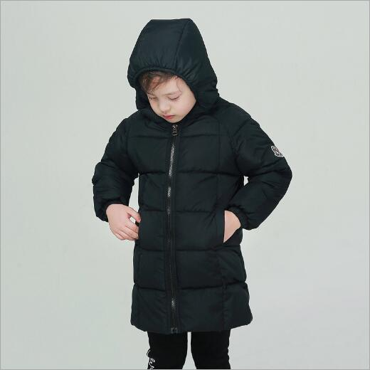 Girls Winter Duck Down Coat Kids Boys Jacket Hooded Long Sections Children Clothes Receive Warm Parka Outerwear Snowsuit girl duck down jacket winter children coat hooded parkas thick warm windproof clothes kids clothing long model outerwear