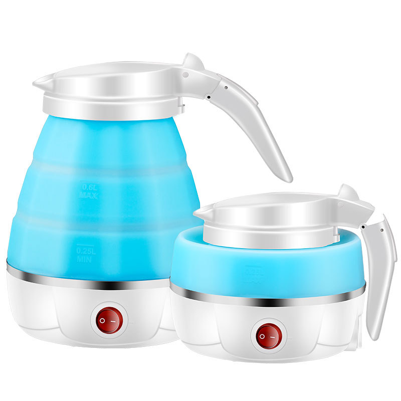 22%,110V/220V Mini Portable Silicone Folding Electric Water Kettle Auto Power-off stainless steel Travel Electric Kettle 500ml22%,110V/220V Mini Portable Silicone Folding Electric Water Kettle Auto Power-off stainless steel Travel Electric Kettle 500ml