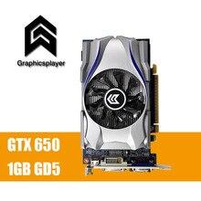 Оригинальный Графика карты GTX650 1 ГБ DDR5 128Bit PCI Express пласа-де-video Carte graphique видеокарта для Nvidia GTX бесплатная доставка