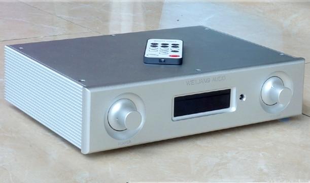 AD6 DC12-25V TPA3116D2 + M62446 + NE5532 HIFI 50W*5+100W Full remote control 6-channel 5.1-channel amplifier радиоприемник 25 hifi 25w