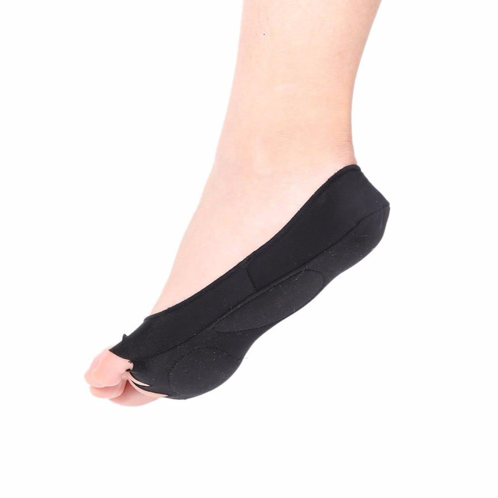 Salud pie Cuidado masaje Calcetines cinco dedos del pie compresión ...