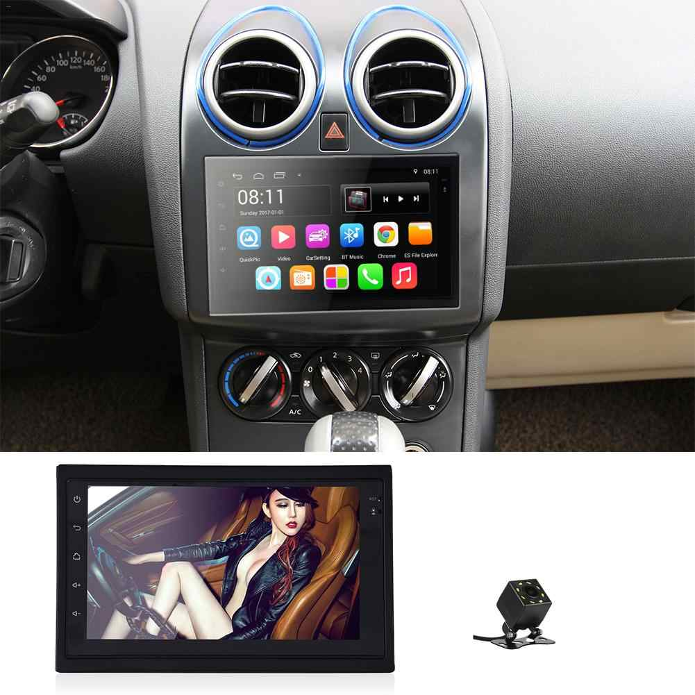 Android 6.0 2 Din 7 inches Car Auto Radio GLONASS WIFI GPS Reverse Camera Tracker Navigator HD Reversing Steering Wheel Control