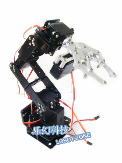 6 degree of freedom mechanical arm support teaching platform mechanical mobile phone Kit