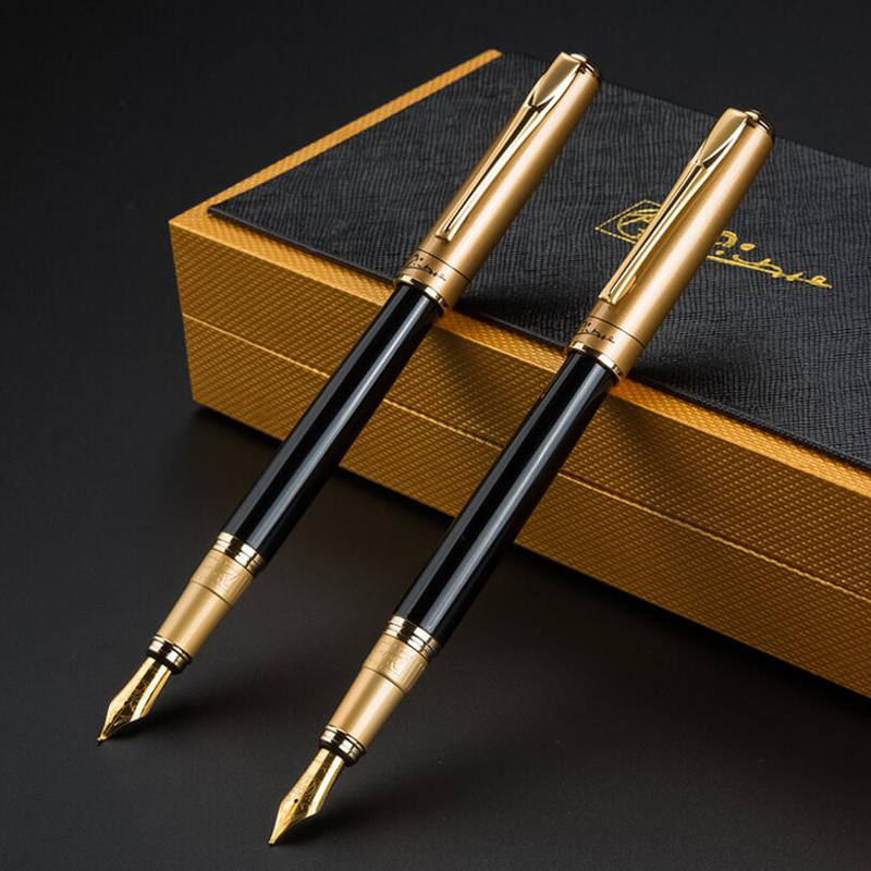 Luoshi New Arrival Free Shipping Picasso Brand 906 Luxury Gift Ink Pen Office Executive Fast Writing Gift Pen