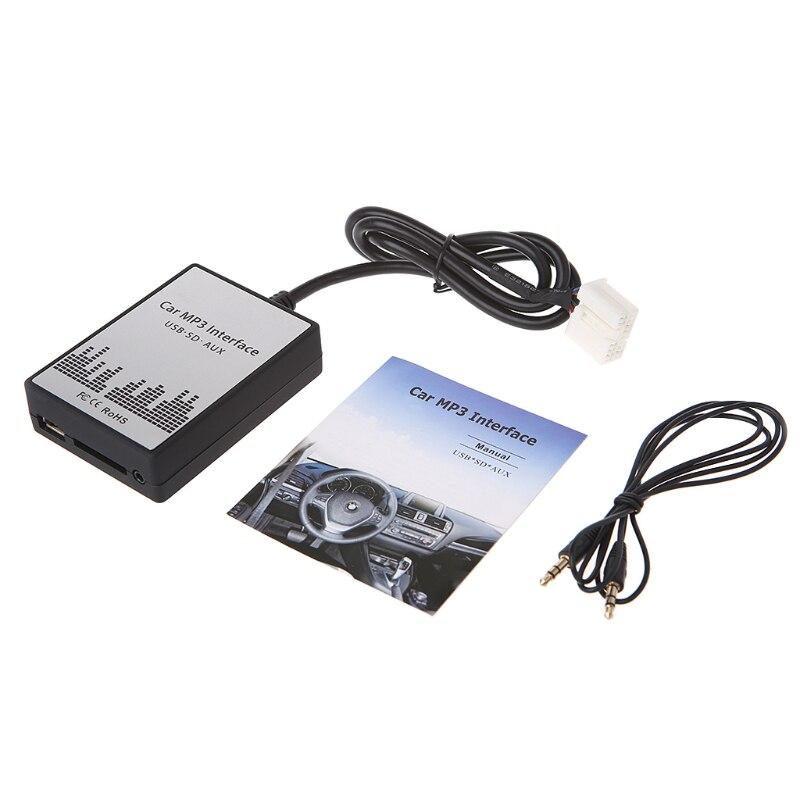 Nouveau Usb Sd Aux Voiture MP3 Adapte CD Changer Pour Suzuki Aerio, Grand Vitara, Ignis, Jimny II, Liana, Splash, Swift, SX4, Wagen R +, X