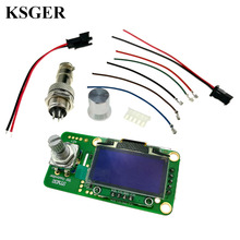 STM32 2.1S OLED T12 Solder Iron Temperature Controller Welding Tools Electronic Soldering Wake Sleep Shock 110 240v 72W