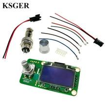 STM32 controlador de temperatura de hierro para soldadura OLED T12, herramientas de soldadura, descarga de sueño, 2,1 110 v 72W