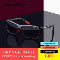 MERRYS DESIGN Men HD Polarized Sunglasses Sports Fishing Eyewear UV400 Protection S8310